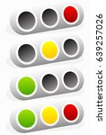 traffic light  traffic lamp... | Shutterstock .eps vector #639257026