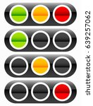 traffic light  traffic lamp... | Shutterstock .eps vector #639257062