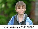 boy. outdoor portrait of 11...   Shutterstock . vector #639260686