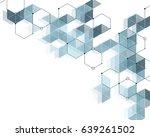 abstract pattern of light blue ... | Shutterstock .eps vector #639261502