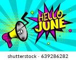 cartoon font label. sounds... | Shutterstock .eps vector #639286282