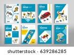 flyers for car repair or car...   Shutterstock .eps vector #639286285