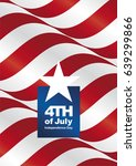 independence day 4th of july... | Shutterstock .eps vector #639299866