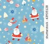 texture gay santa claus | Shutterstock .eps vector #63935128