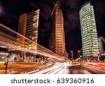 berlin  potsdamer platz at night | Shutterstock . vector #639360916