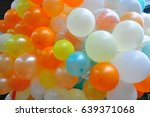 colorful balloons | Shutterstock . vector #639371068