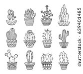 hand drawn sketch  vector... | Shutterstock .eps vector #639401485