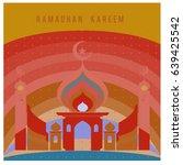 vector illustration for ramadan ...   Shutterstock .eps vector #639425542