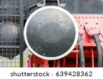 old locomotion coupler coloured ... | Shutterstock . vector #639428362