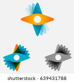 Abstract Vector Propeller Or...