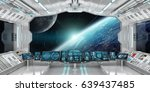 Spaceship Interior With View On ...