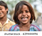 smiling face portrait of a...   Shutterstock . vector #639444496