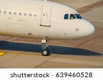 passenger aircraft waiting for... | Shutterstock . vector #639460528