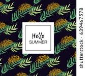summer vector design for... | Shutterstock .eps vector #639467578