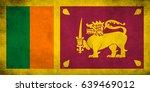 flag of sri lanka | Shutterstock . vector #639469012