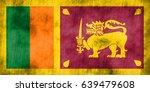flag of sri lanka | Shutterstock . vector #639479608