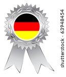 silver medal | Shutterstock .eps vector #63948454