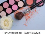 a collection of make up and... | Shutterstock . vector #639486226