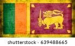 flag of sri lanka | Shutterstock . vector #639488665
