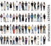 various of diversity people... | Shutterstock . vector #639490396