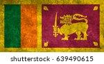 flag of sri lanka | Shutterstock . vector #639490615