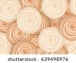 beige flowers in style of art... | Shutterstock .eps vector #639498976