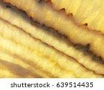 detail of a translucent slice... | Shutterstock . vector #639514435