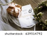 will you marry me proposing... | Shutterstock . vector #639514792