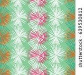 pattern of dots. vector...   Shutterstock .eps vector #639530812