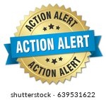 action alert round isolated... | Shutterstock .eps vector #639531622