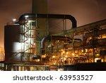 copper producing factory in... | Shutterstock . vector #63953527