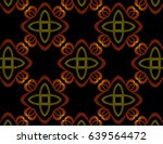 an hand drawing pattern made of ... | Shutterstock . vector #639564472