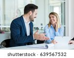 they share a great working... | Shutterstock . vector #639567532
