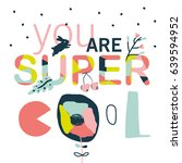 motivational colorful and...   Shutterstock .eps vector #639594952