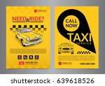 taxi pickup service design... | Shutterstock .eps vector #639618526