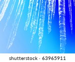icicles | Shutterstock . vector #63965911