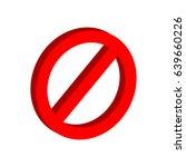 stop sign symbol. flat...