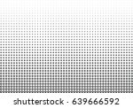 abstract halftone dotted... | Shutterstock .eps vector #639666592