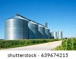 Grain Elevator Silos In...
