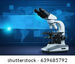 laboratory equipment ... | Shutterstock . vector #639685792