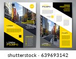 business brochure. flyer design.... | Shutterstock .eps vector #639693142