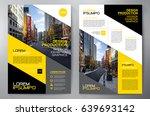 business brochure. flyer design.... | Shutterstock .eps vector #639693142