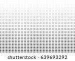 abstract halftone dotted... | Shutterstock .eps vector #639693292