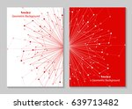 modern vector templates for... | Shutterstock .eps vector #639713482