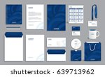 corporate identity design... | Shutterstock .eps vector #639713962