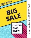 flat design sale website banner ... | Shutterstock .eps vector #639731362