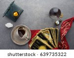 composition of esoteric objects ... | Shutterstock . vector #639735322