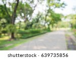 abstract blur city park bokeh... | Shutterstock . vector #639735856