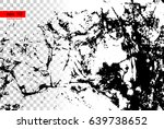 grunge black and white urban... | Shutterstock .eps vector #639738652
