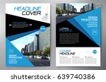 business brochure. flyer design.... | Shutterstock .eps vector #639740386